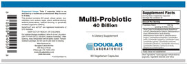 Douglas Laboratories Multi-Probiotic 40 Billion