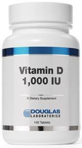 Douglas Laboratories Vitamin D (1,000 I.U.)