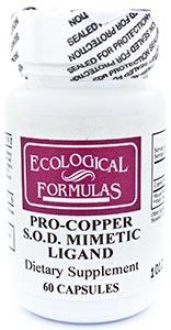 Ecological Formulas/Cardiovascular Research Pro-Copper S.O.D.