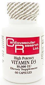 Ecological Formulas/Cardiovascular Research Vitamin D3 10,000iu
