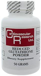 Ecological Formulas/Cardiovascular Research Reduced Glutathione Powder