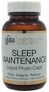 Gaia Herbs Sleep Maintenance Capsules