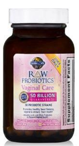 Garden of Life RAW Probiotics Vaginal Care