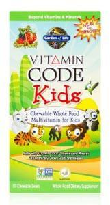 Garden of Life Vitamin Code Kids Chewable Multivitamin