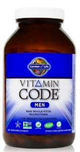 Garden of Life Vitamin Code RAW Men's Multivitamin