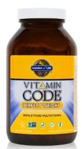 Garden of Life Vitamin Code Perfect Weight Multivitamin