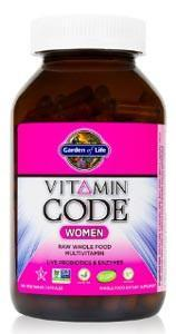 Garden of Life Vitamin Code RAW Women's Multivitamin
