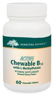 Genestra Brands Active Chewable B12 with Methylfolate