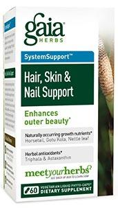 Gaia Herbs Skin and Nail Support Capsules