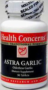 Health Concerns Astra Garlic