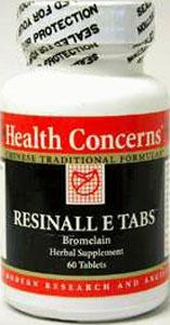 Health Concerns Resinall E