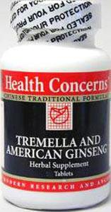 Health Concerns Tremella and American Ginseng