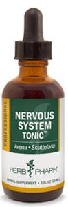 Herb Pharm Nervous System Tonic