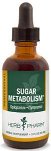 Herb Pharm Sugar Metabolism