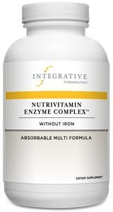 Integrative Therapeutics Nutrivitamin Enzyme Complex without Iron