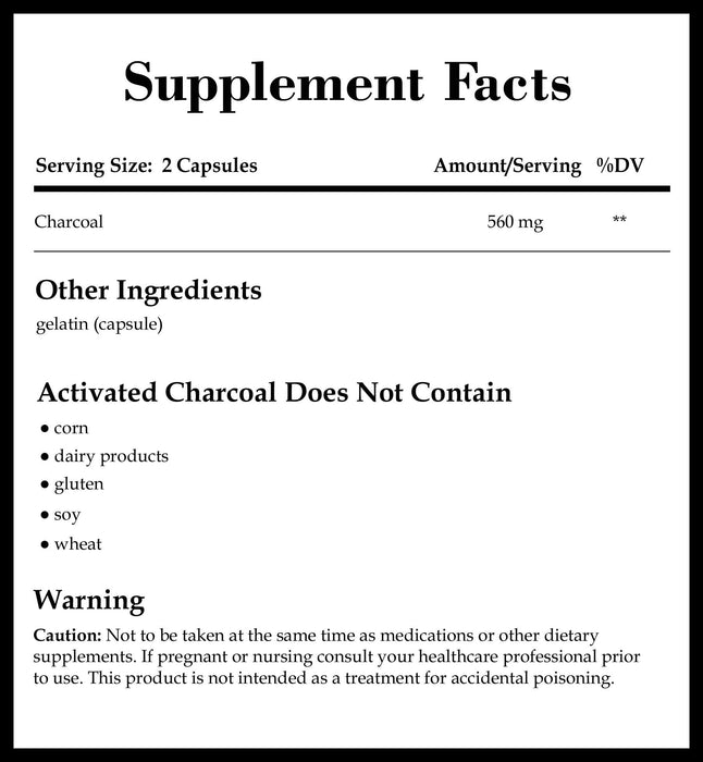 Integrative Therapeutics Activated Charcoal