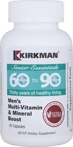 Kirkman 60 to 90 Men's Multi-Vitamin and Mineral Boost