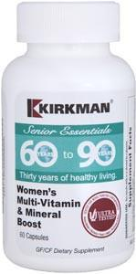 Kirkman 60 to 90 Women's Multi-Vitamin and Mineral Boost