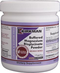 Kirkman Buffered Magnesium Bisglycinate Powder