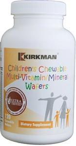 Kirkman Children's Chewable Multi-Vitamin/Mineral Wafers