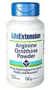 Life Extension Arginine Ornithine Powder