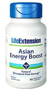 Life Extension Asian Energy Boost
