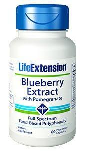 Life Extension Blueberry Extract with Pomegranate
