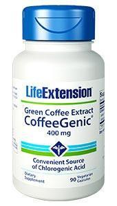 Life Extension CoffeeGenic Green Coffee Extract