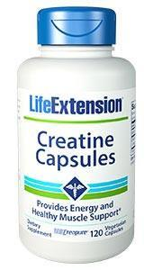 Life Extension Creatine Capsules