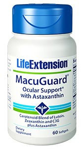 Life Extension MacuGuard Ocular Support with Astaxanthin