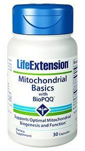 Life Extension Mitochondrial Basics with BioPQQ