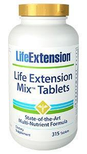 Life Extension Mix Tablets with Extra Niacin