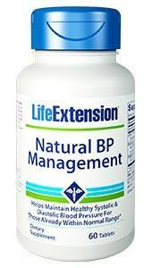 Life Extension Natural BP Management