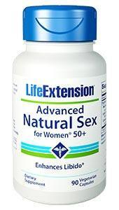 Life Extension Advanced Natural Sex for Women 50+