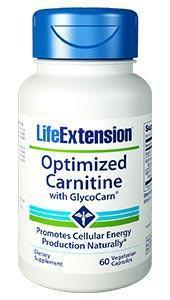 Life Extension Optimized Carnitine with GlycoCarn