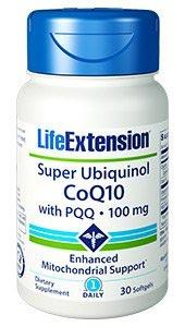 Life Extension Super Ubiquinol CoQ10 with BioPQQ