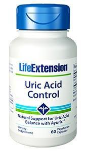 Life Extension Uric Acid Control