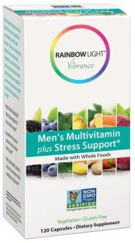 Rainbow Light Vibrance Men's Multivitamin plus Stress Support