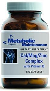 Metabolic Maintenance Cal/Mag/Zinc Complex with Vitamin D
