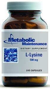 Metabolic Maintenance L-Lysine