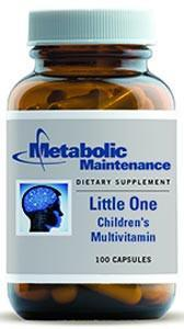 Metabolic Maintenance Little One Children's Multivitamin