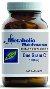 Metabolic Maintenance One Gram C pH 2.4