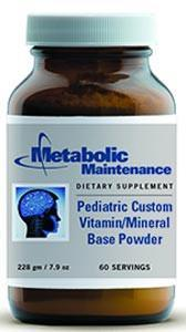 Metabolic Maintenance Pediatric Custom Vitamin/Mineral Base Powder