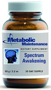 Metabolic Maintenance Spectrum Awakening