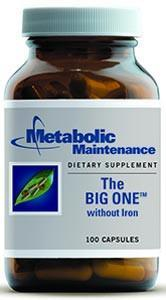 Metabolic Maintenance The BIG ONE without Iron