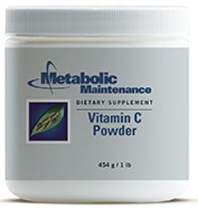 Metabolic Maintenance Vitamin C Powder (Pure) pH 2.4