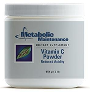 Metabolic Maintenance Vitamin C Powder (Reduced Acidity) pH 4.4