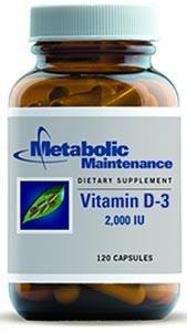 Metabolic Maintenance Vitamin D-3