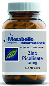 Metabolic Maintenance Zinc Picolinate