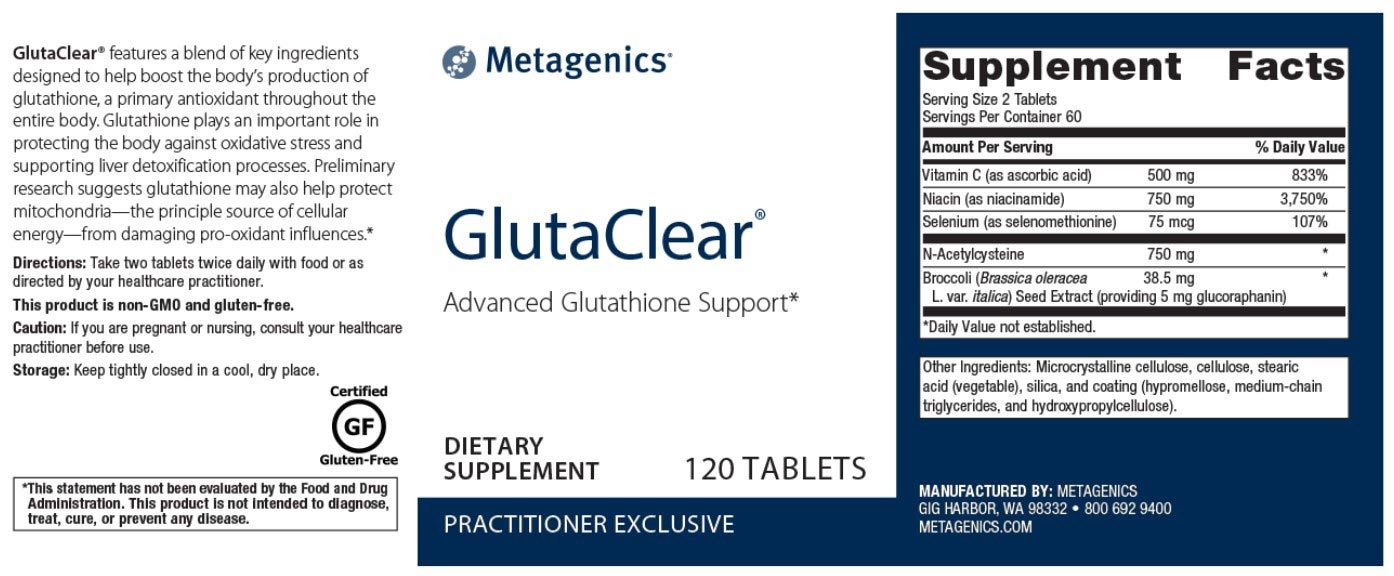 Metagenics GlutaClear